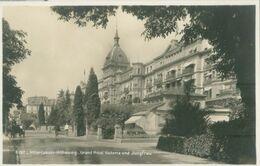 Interlaken; Höheweg. Grand Hotel Victoria Und Jungfrau - Nicht Gelaufen. (SG - Neuchâtel) - BE Berne
