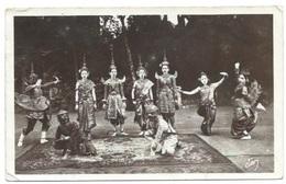 CAMBODGE - ANGKOR-VAT - Danses Cambodgiennes - Combat De Singe Blanc Et De Singe Noir - CPA - Camboya