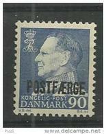 1970 MNH Danmark,  Postfäere, Postfris** - Colis Postaux