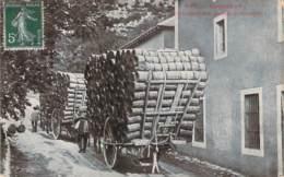 12 - Roquefort - Le Transport Des Paniers à Fromages (attelage) - Roquefort