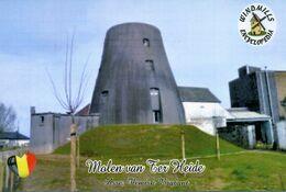 Carte Postale, Moulins A Vent, Windmills Encyclopedia, Belgium, Asse (Flemish Brabant), Molen Van Ter Heide - Moulins à Vent