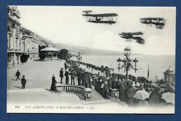 Monaco - Carte Postale - Monte Carlo - Les Aéroplanes - Monte-Carlo