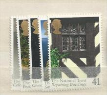 1995 MNH GB, UK, Engeland Grossbritanien, National Trust  Postfris - Neufs