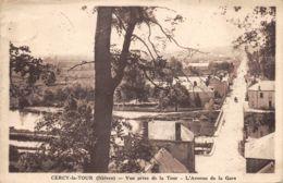 58-CERCY LA TOUR-N°354-A/0343 - Altri Comuni