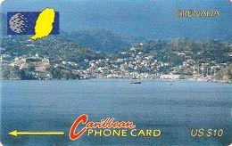 *GRENADA - 10CGRE* - Scheda Usata - Grenada