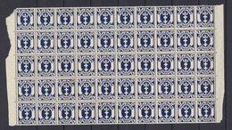 Danzig - 1922 - Michel Nr. 123 Y Bogenteil - Postfrisch - 120 Euro - Danzig