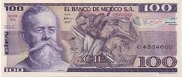 Mexique Mexico : 100 Pesos 1982 UNC - Mexique