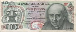 Mexique Mexico : 10 Pesos 1977 Bon état - Mexique
