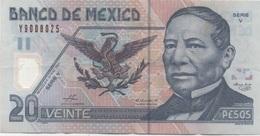 Mexique Mexico : 20 Pesos 2003 En Plastique : état Courant - Mexique