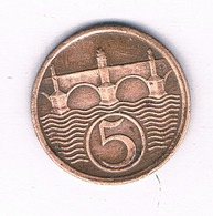 5  HALLER  1938  TSJECHOSLOWAKIJE /5638/ - Tchécoslovaquie