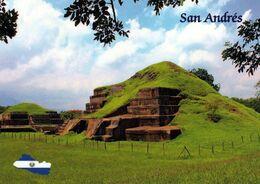 1 AK El Salvador * Maya Ruinen Im Archaeological Park Von San Andrés * - Salvador
