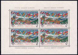 ✔️ Tsjechoslowakei 1961 - Philatelic Expo Praha Kleinbogen Minisheet - Mi. 1314 KB ** MNH - Blocs-feuillets