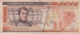Mexique Mexico : 5000 Pesos 1987 Mauvais état - Mexique