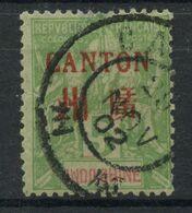 Canton (1901) N 5 (o) - Oblitérés
