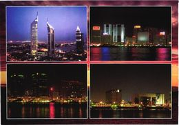 United Arab Emirates:Dubai Views At Night - Emiratos Arábes Unidos