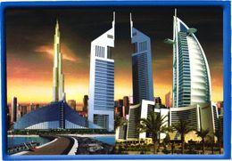 United Arab Emirates:Dubai Towers - Emiratos Arábes Unidos