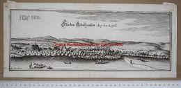 GIEBOLDEHAUSEN / Eichsfeld (LK Göttingen) - Original Kupferstich (Merian) ~ Um 1650 - Goettingen