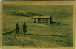 WINTER SPORTS -  SKI / SCI - ALTIPIANO DI FOLGARIA ( TRENTO ) RIFUGIO COE - ANNULLO - EDIT A. PLOTEGHER 1930s ( BG9043) - Winter Sports
