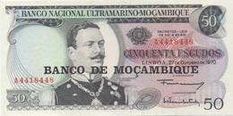 Mozambique : 50 Escudos 1970 UNC - Mozambique