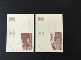 Publibels N°870 Et 871 Neufs (Dinant Et Bouillon) - Stamped Stationery
