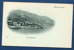 Monaco - Carte Postale - Monte Carlo - Vue Générale - Monte-Carlo