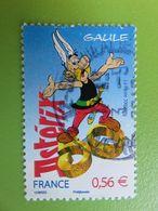 Timbre France YT 4425 - 50 Ans D'Astérix Le Gaulois - BD René Goscinny - Astérix Et Nombre 50 - 2009 - Used Stamps