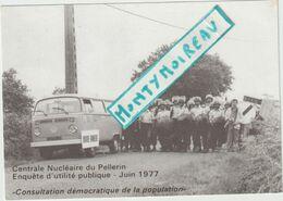 V P :  Genre  Carte , Centrale Nucléaire Du Pellerin Prés  Saint  Brieuc , Camion  Combi , Gendarme C R S - Alte Papiere