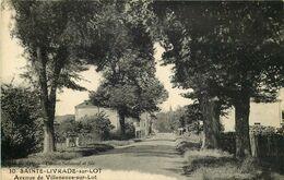 LOT ET GARONNE  SAINTE LIVRADE SUR LOT  Avenue De Villeneuve Sur Lot - Autres Communes