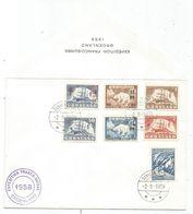 GRONLAND DIVERS LETTRE EXPEDITION FRANCO SUISSE GROENLAND 2.9.1958 - Terres Australes Et Antarctiques Françaises (TAAF)