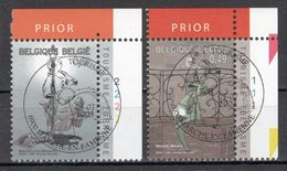 BELGIE: COB 3197/3198 Eerste Dag Afstempeling. - Belgium