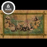 Djibouti 2020, Animals, Panda, Wood BF - Djibouti (1977-...)
