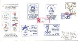 1995  Session Du C.I.O. Budapest: Désignation Du Site Des Jeux Olympiques D'Hiver De 2002: 4 Candidatures - Winter 2002: Salt Lake City