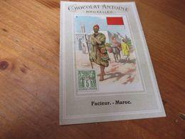 Chromo, Chocolade Antoine, Facteur Maroc - Altri