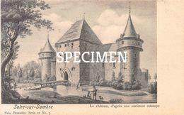 Le Château D'après Une Ancienne Estampe - Solre-sur-Sambre - Erquelinnes
