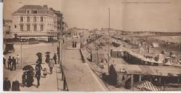 85 LES SABLES D'OLONNE - L'Hôtel De L'Océan Et La Plage ,  Carte Panoramique Triple - Sables D'Olonne