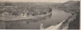 46 Panorama De CAHORS  Carte De 11 X 55 Cm - Cahors