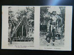 MEKEO HOTEL DE VILLE INDIGENE OU MAREA              UN CANNIBALE - Papouasie-Nouvelle-Guinée