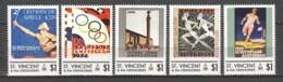 St Vincent - MNH Set SUMMER OLYMPICS AMSTERDAM 1928 - Summer 1928: Amsterdam