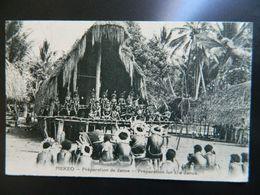 MEKEO           PREPARATION DE DANSE - Papua-Neuguinea