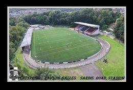 CARTE De Stade De: PONTYPRIDD    PAYS DE GALLES   SARDIS  ROAD  STADIUM   # REFERENCE . D.M. 029 - Fútbol