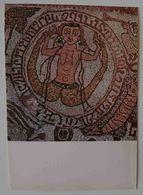 """OTRANTO - Cattedrale - Mosaico Pavimentale """"Sirena / Siren"""" - Particolare -  Nv P2 - Lecce"""