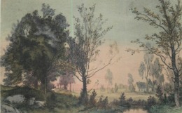 CP ILLUSTREE M.M. VIENNE N°715 M. MUNK - MAISON PAYSAGE - Vienne