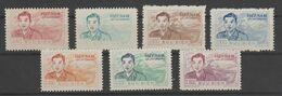 North Vietnam 1956 Michel 10/16 Mnh.First Stamp Small Grease. - Vietnam