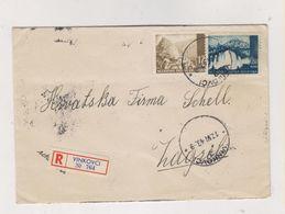 CROATIA WW II,VINKOVCI 1943 Nice Registered Cover - Croazia