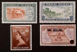 Tokelau, 1948,  MiMr 2-5, MH/* - Tokelau
