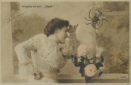 Araignée Spider Araignée Du Soir Espoir . Langage De L' Araignée . Belle Femme  . Petit Pli - Insects