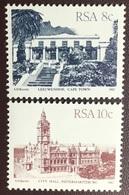 South Africa 1982 Buildings Definitives MNH - África Del Sur (1961-...)