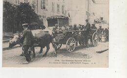 CPA  BRUYERES LA GRANDE GUERRE 1415 CONVOI DE BLESSES - France