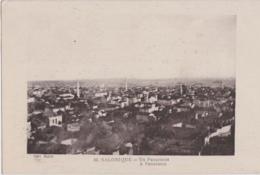 Ca - Cpa SALONIQUE (Salonica) - Un Panorama - Greece