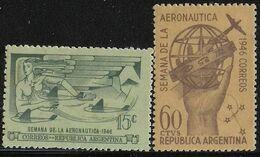ARGENTINA - Semana De La Aeronáutica - Serie Completa MNH Año 1946 - Ungebraucht